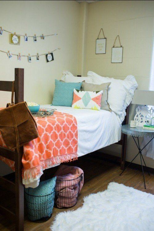 Area rugs are great ways to make your bedroom cozy!