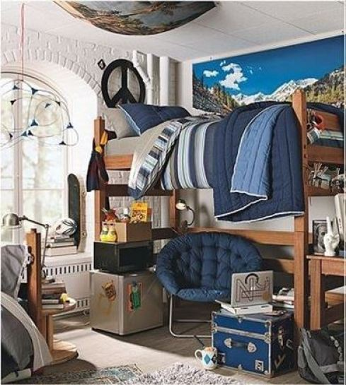 Cool Guys Rooms: 10 Guys Dorm Room Decor Ideas
