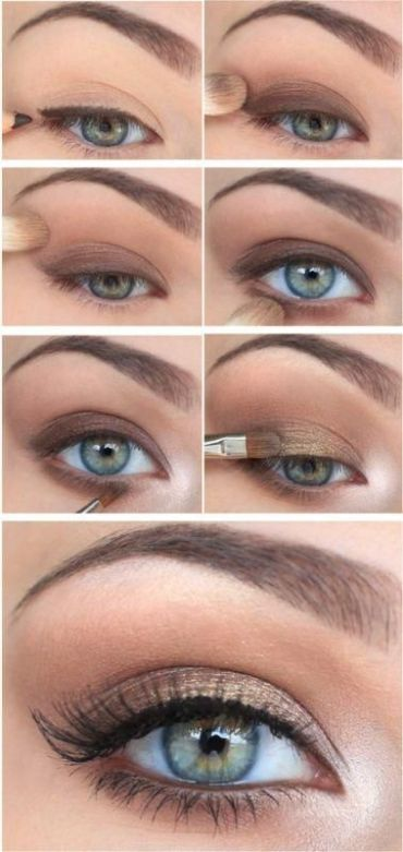 This natural eye look is very professional and great for work!