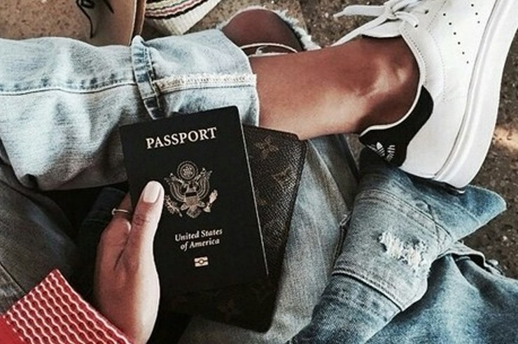 Wherever you're traveling to, it's always a good a idea to bring your passport. Why not keep it in one of these trendy passport holders?