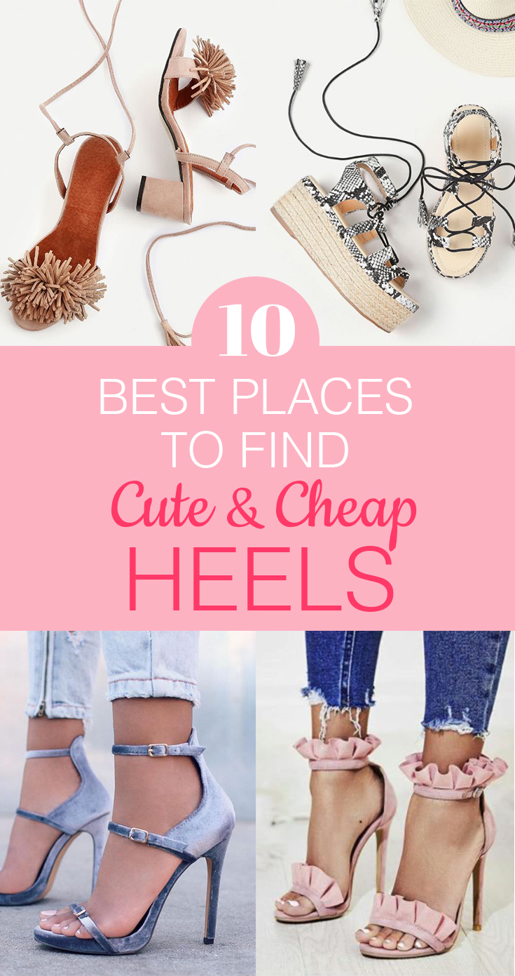 Find Cute And Cheap Heels