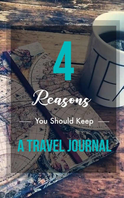 Keeping a travel journal is life changing, and here's the reasons why!