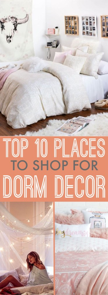 These are the best dorm decor websites to check out!