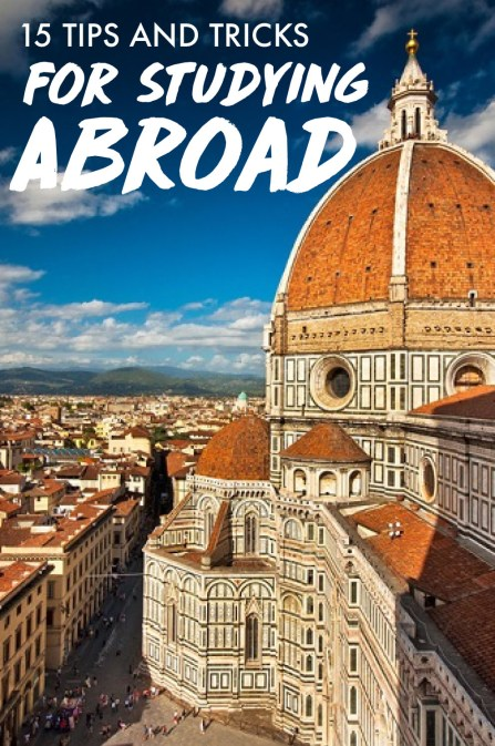 These are some of the best tips for studying abroad!
