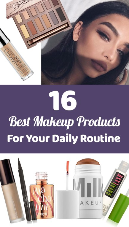these makeup products are perfect for your daily routine!