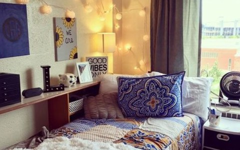 Your dorm room is your personal home away from home. From bedding to wall decor, here are 20 easy ways to upgrade Santa Clara dorms!