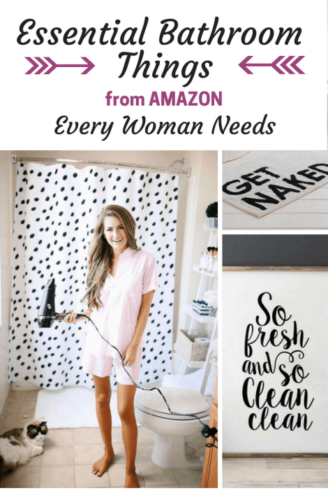 15 Essential Bathroom Things from Amazon that Every Woman Needs