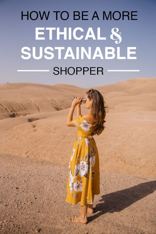 The best ways you can be a more ethical and sustainable shopper!