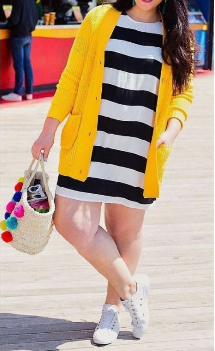 Plus size dresses are college essentials for curvy girls