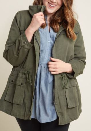Plus size fall jackets are college essentials