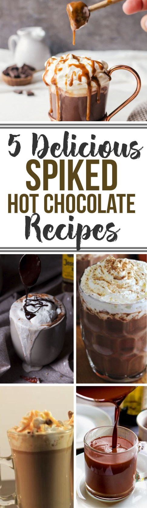 These are the most delicious spiked hot chocolate recipes!