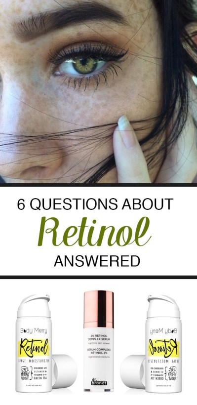 These are all of the questions you have about retinol answered!