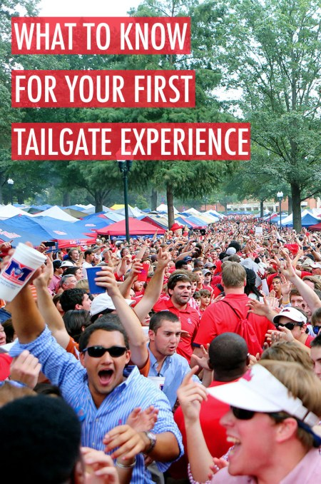 This is everything you need to know for your first tailgate experience!