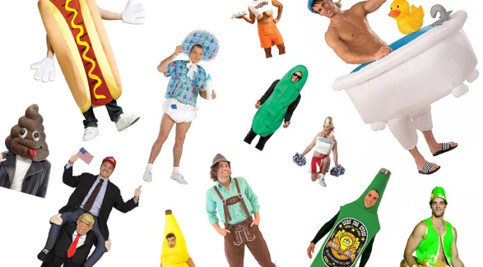 Finding a funny and creative Halloween costume as a guy can be a little difficult. Here are 15 funny costumes for guys to get a little inspiration!