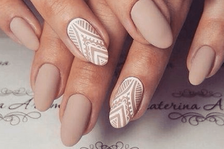 Almond Nail Designs Archives Society19