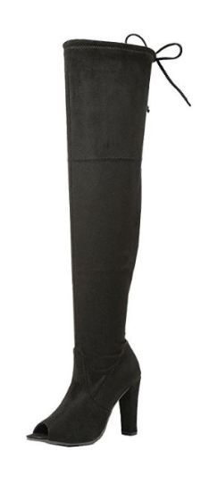 25 Ways To Wear Thigh High Boots This Winter