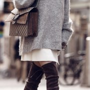 There's so many ways to wear thigh high boots! Whether you like black, leather, lace up or some added heels. These are the cutest thigh high boot outfits!