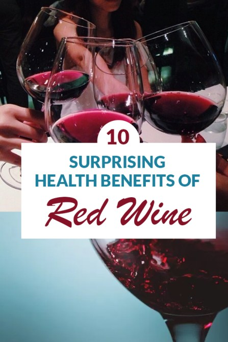 These are the surprising health benefits of red wine that you need to know about