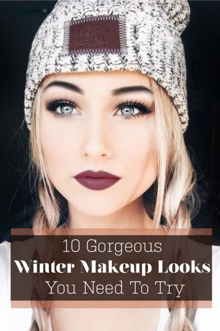 These gorgeous winter makeup looks are what you need to try!