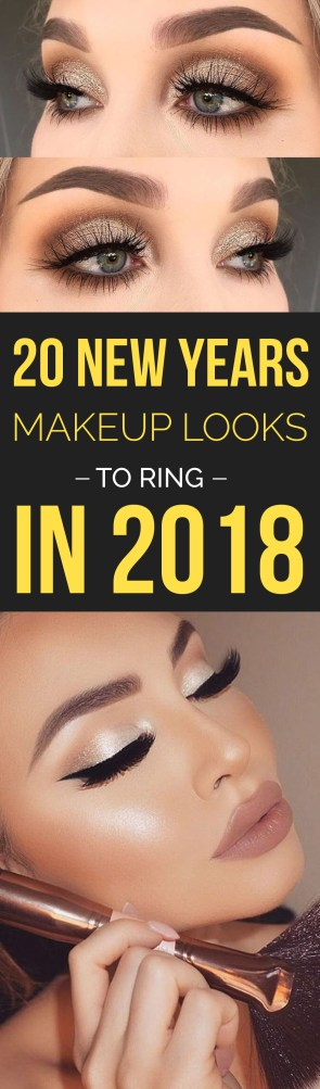 These are the best New Years makeup looks to ring in 2018 with!