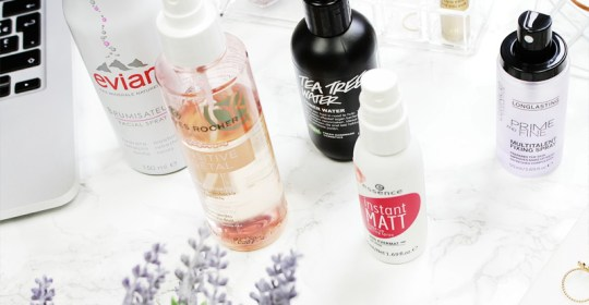 There are so many face finishing sprays to choose from! However, these are the best makeup setting sprays from urban decay, mac, and more!