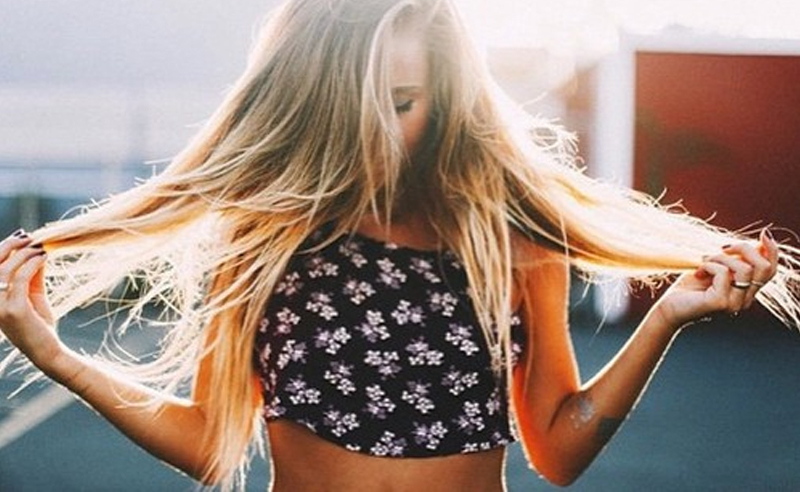 Sally Beauty Hair Extensions are an inexpensive quick fix to long hair! The beauty supply store offers clip in human hair that comes with great reviews!