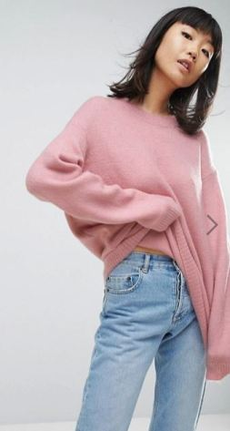 Le pull oversize 15 looks cozy à copier - pull rose