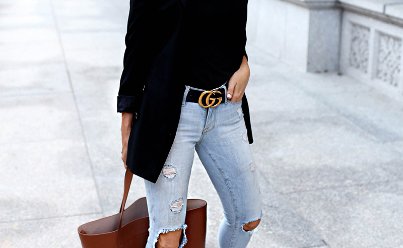 These brown, white and black gucci belt outfits are perfect for fall and winter. If you want a cheap gucci belt dupe, these are cute women's belts!