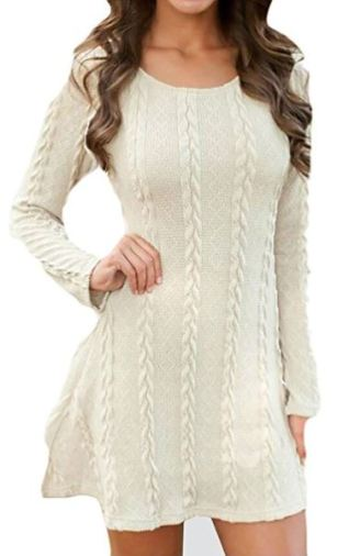 7 Sweater Dress Outfits Perfect for Winter