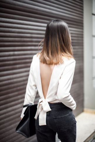92f3a4b0baf ... a completely bare back or a strappy bralette underneath, you have to  find the right bra to pull the look off. Check out the best bra for open  back shirt ...