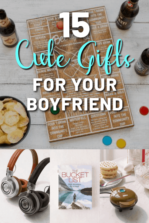 15 Cute Christmas Gift Ideas For Your Boyfriend