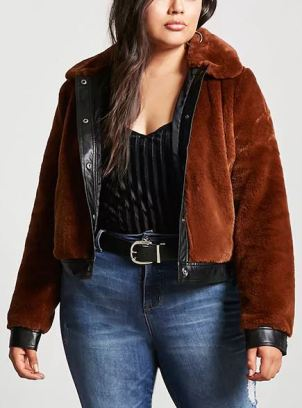 Forever21 is one of best affordable plus size clothing websites!
