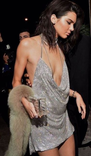 This Kendall Jenner dress is perfect for New Years Eve outfit ideas!