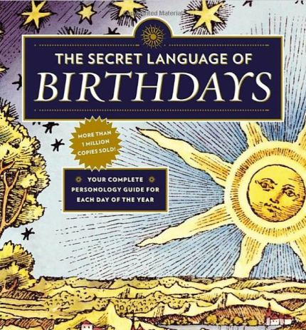 This book of birthdays make the best astrology gift!