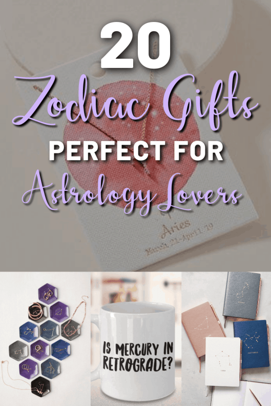 20 Zodiac Gifts Perfect For Astrology Lovers