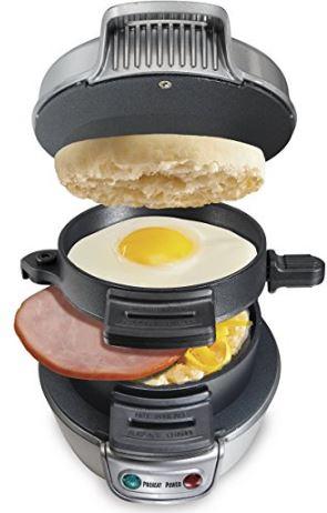 A breakfast sandwich maker is a great couples gift idea!