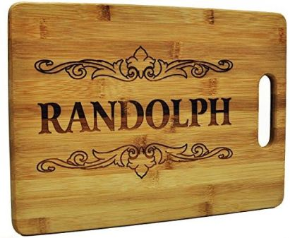 Engraved Cutting boards make good christmas gift ideas for your mother in law!