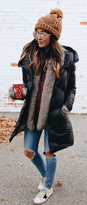 These are the best winter coats for college students!