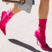 Here's how to wear sock boots all year if you're not feeling daring enough to throw them on. These booties can seriously be worn throughout every season, despite if they are high or low, suede, black, you name it!