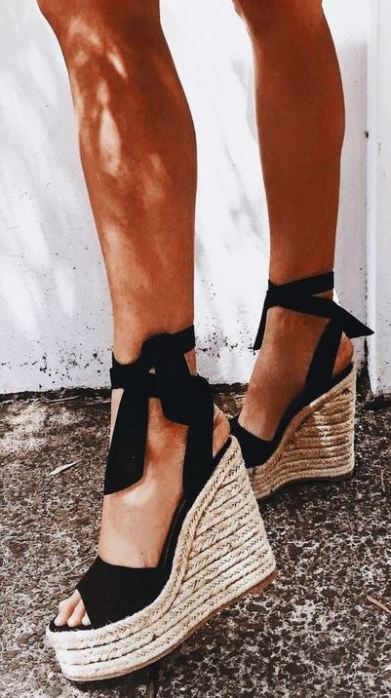 I love cute platform sandals like these!