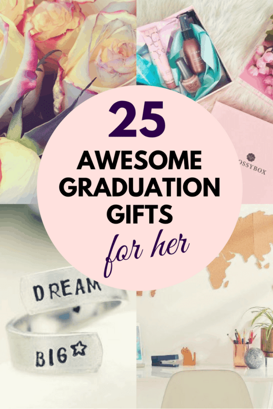 25 graduation gifts for her