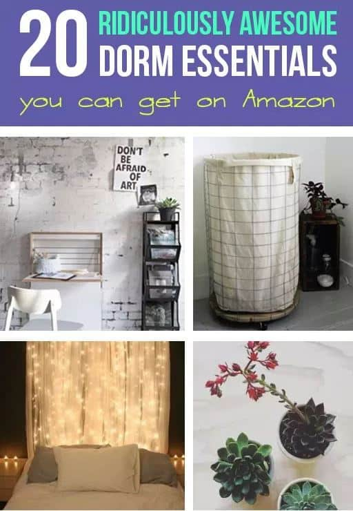 20 Ridiculously Awesome Dorm Essentials You Can Get On Amazon
