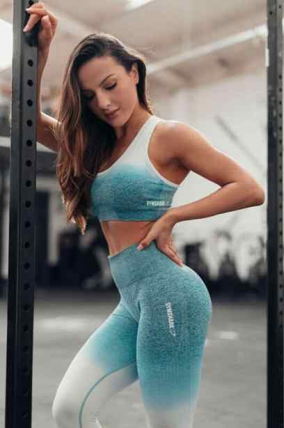 Gymshark women's leggings are some of my favorite workout clothes there!