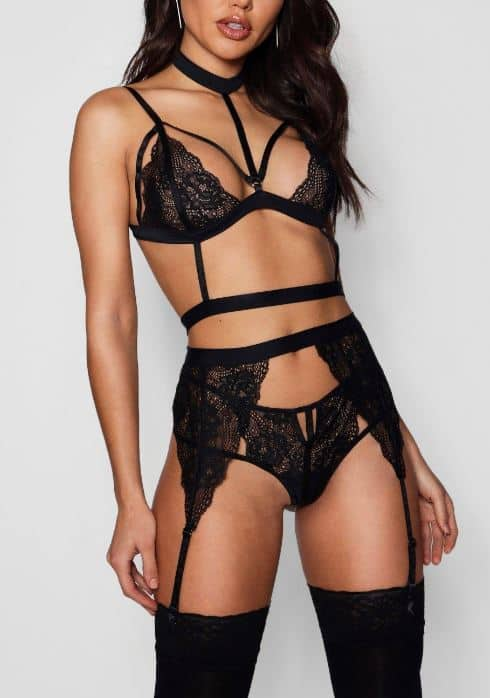 This sexy lingerie is chic and comfy!