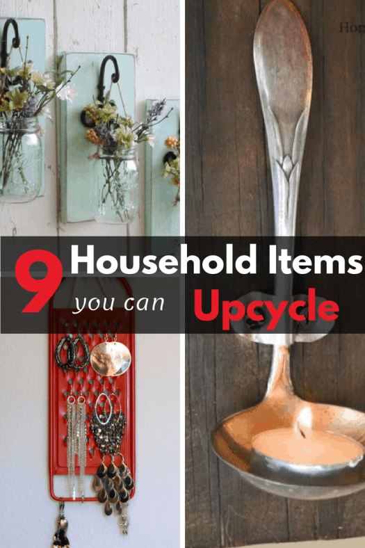 9 Common Household Items You Can Actually Upcycle