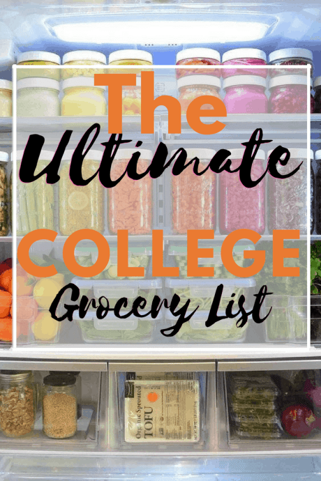The Ultimate College Grocery List For Your First Apartment