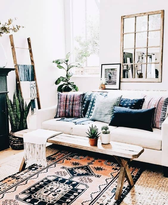 30 Bohemian Home Decor Ideas For A Boho Chic Space on Modern Boho Decor  id=46153