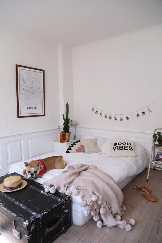 Check out this mid century modern decor on a budget!