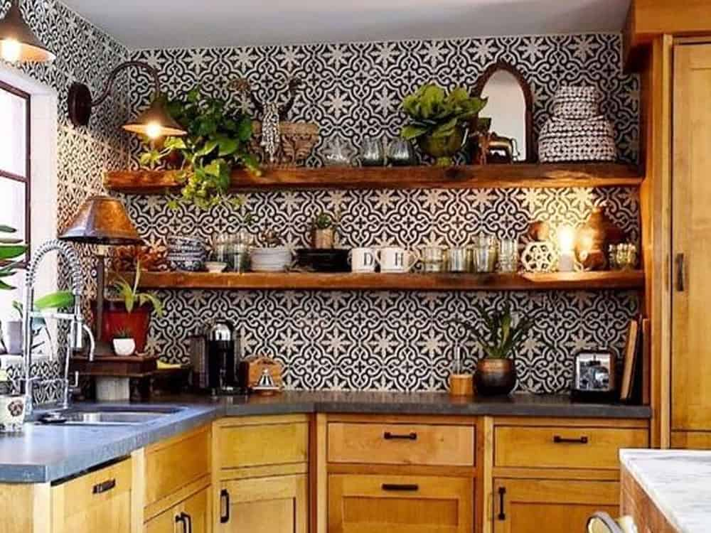 This apartment and DIY home decor is perfecting for decorating your kitchen or bathroom on a budget. These cheap adhesive tile wall stickers are trending!