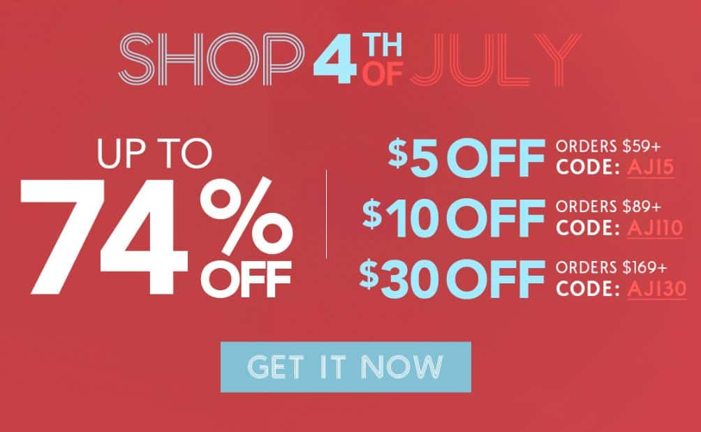 The Best 4th of July Sales To Take Advantage Of!